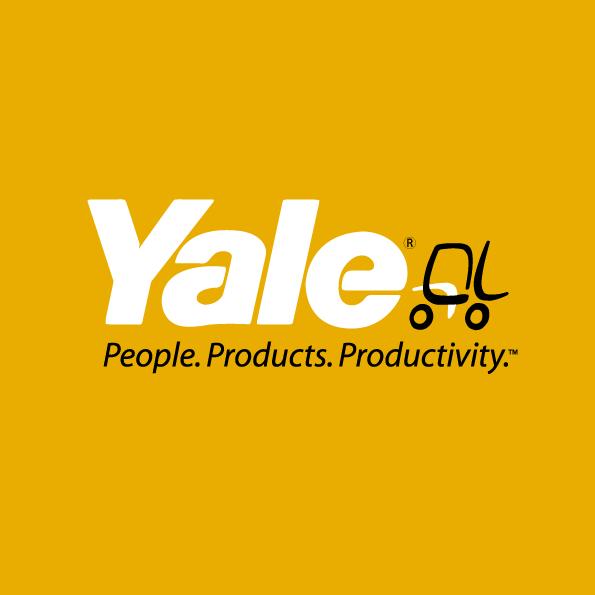 Logo yale sur fond jaune