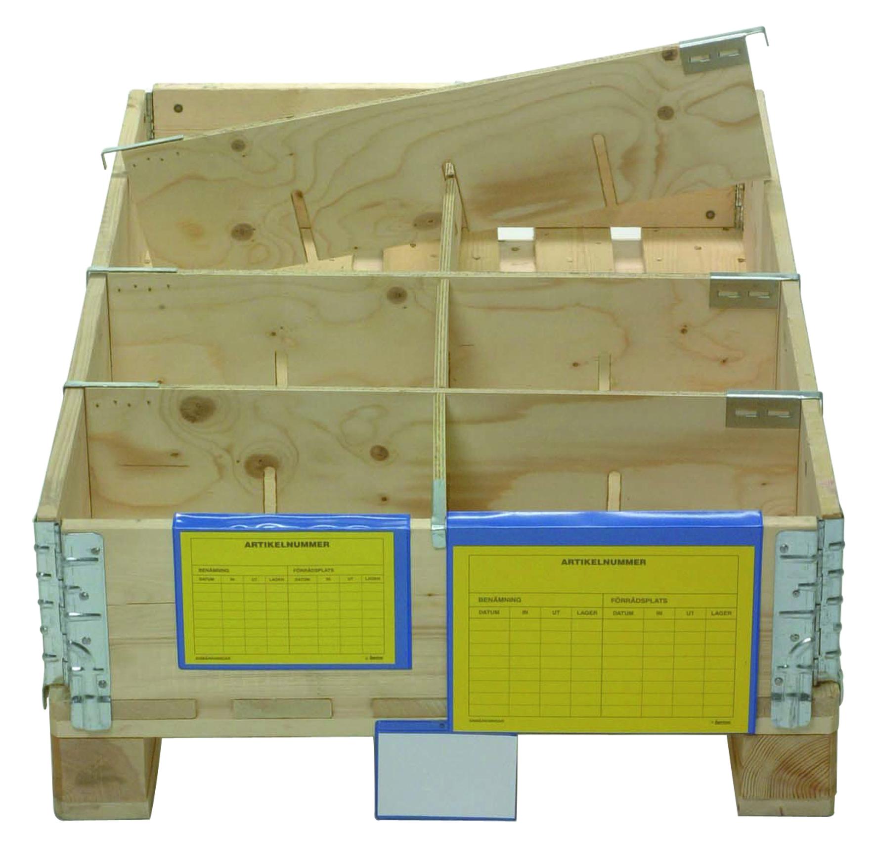 Séparateur bois pour réhausse pliante dimensions : 1154 x 190 mm